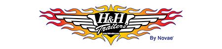 H & H Trailers logo